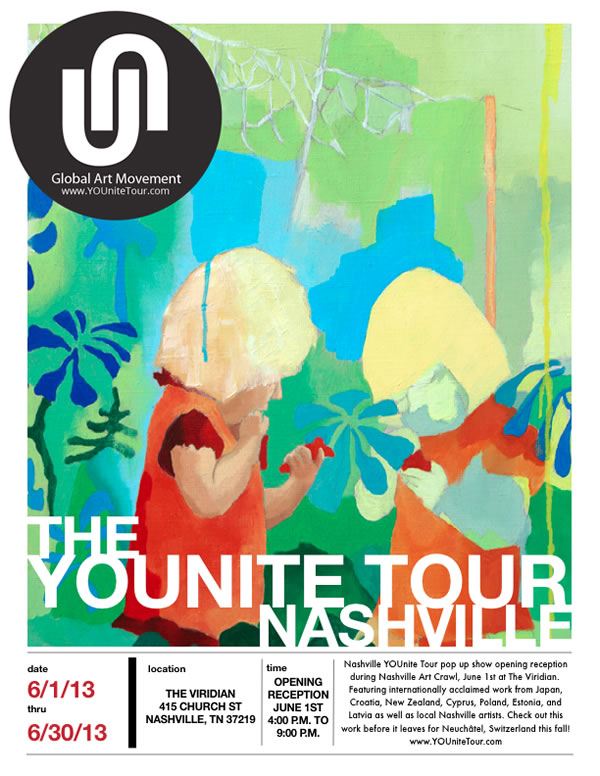 Nashville YOUnite Tour Exhibit Flyer